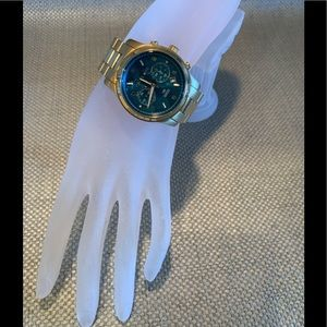 Michael Kors hunger stop 100 turquoise watch